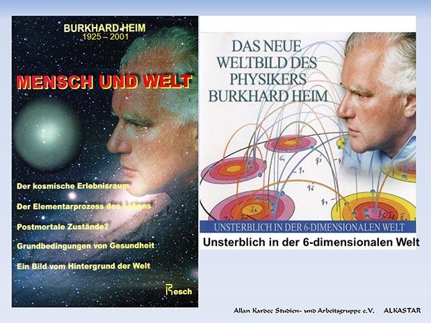 Der deutsche Physiker Burkhard Heim